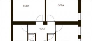 Tri sobe i dnevni boravak u stanu od 70m2