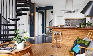 Sjajno osmišljen dvoetažni stan od 51 m2