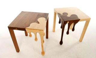 Razigrani umjetnički stolovi za originalni interijer