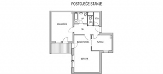 Kako preurediti dvosoban stan?