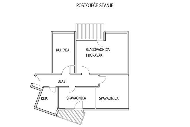 Kako od dvosobnog napraviti trosoban stan?