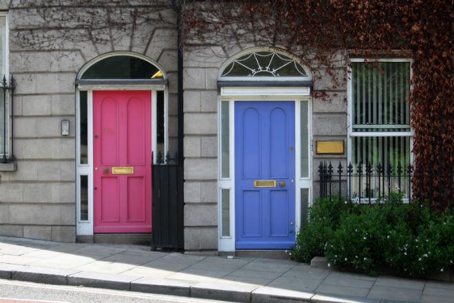Etažiranje dva stana sa zasebnim ulazima