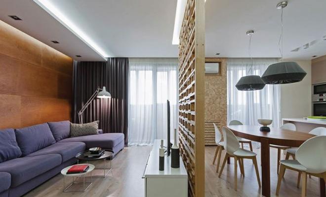 Moderan stan uređen po mjeri mlade obitelji