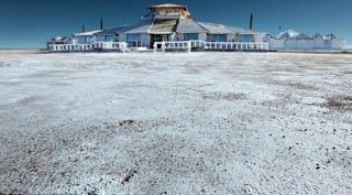 U Boliviji napravljen hotel od soli