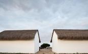 Naselje kraj rijeke Sado - Portugal